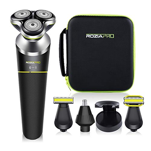 Roziapro Rotary Shavers 5-in-1 Grooming Kit