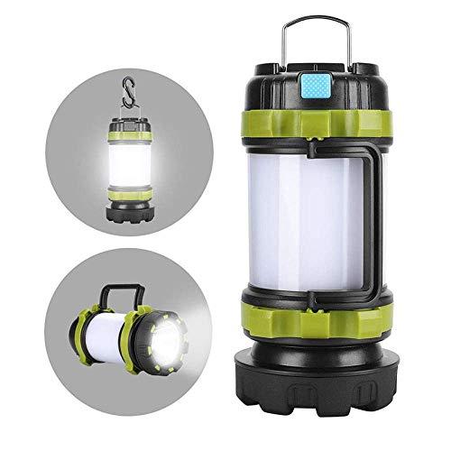 Camping Lichter Camping Leuchten und Laternen wiederaufladbare Licht bewegliche geführte kampierendes Licht Arbeitslicht im Freien Zelt-Licht-Handtaschenlampe USB aufladbare Wasserdicht Suchlicht yqaa