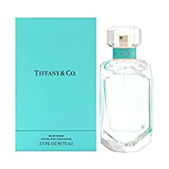 TIFFANY & CO. 2.5 OZ EAU DE PARFUM SPRAY WOMEN Country of origin is United States The package dimension of the product is 8.6cmL x 8.6cmW x 14.3cmH Femininity