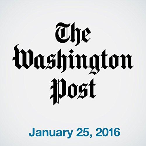 Top Stories Daily from The Washington Post, January 25, 2016 copertina