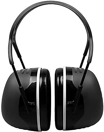 BDRSLX Auricion de Ruido dedicado Aprendizaje Industrial silencioso Auriculares cómodos (Color: Negro, Tamaño: Un tamaño) (Color: Negro, Tamaño: Un tamaño) (Color : Black, Size : One Size)