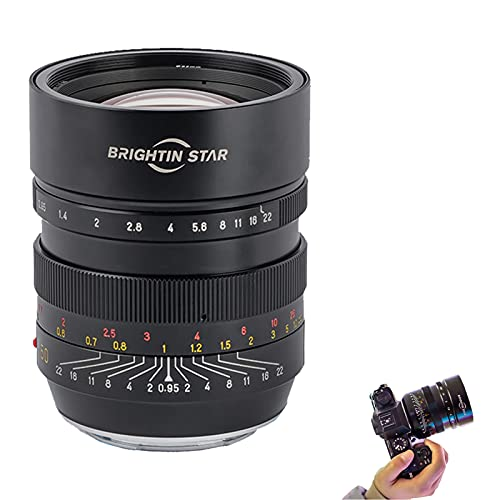 Bright Star Objetivo de 50 mm F0,95 de formato completo para retratos...