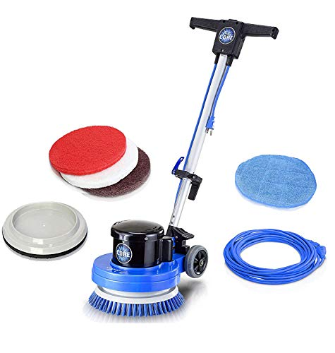 Lowest Prices! Prolux Core Floor Buffer - Heavy Duty Single Pad Commercial Floor Polisher and Scrubb...