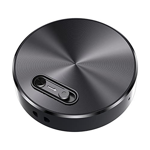 Grabadora de voz portátil de 32 GB, grabadora de cinta pequeña para conferencias, reuniones, entrevistas, mini grabadora de audio USB, 20 horas de grabación continua