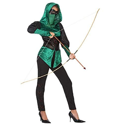 ATOSA disfraz arquera mujer adulto XS