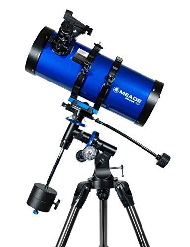 Meade Instruments Polaris 216005 - Telescopio, Reflector Azul, 127mm