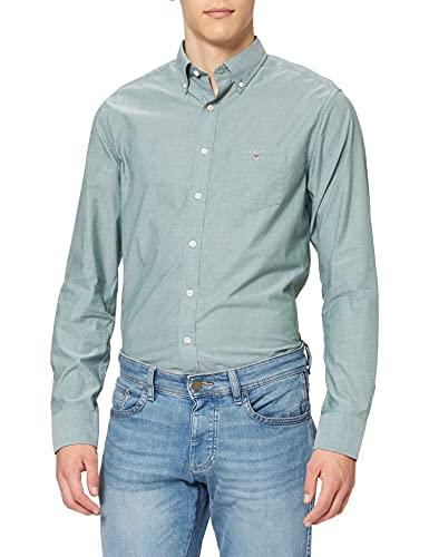 GANT Reg Broadcloth BD Camisa, Eden...