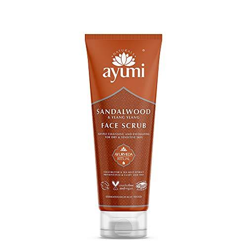 Ayumi Sandalwood & Ylang Ylang Face Cream. Vegan, Cruelty-Free, Dermatologically-Tested, 1 x 100ml