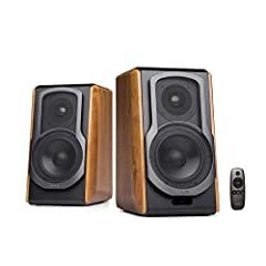 BLUETOOTH 4.0 aptX connectivity – Stream high quality sound wirelessly with minimal loss OPTICAL / COAXIAL and AUX inputs - Attach the professional studio speakers to multiple sources at the same time 5.5 INCH MID-RANGE UNIT - Coupled with Digital So...