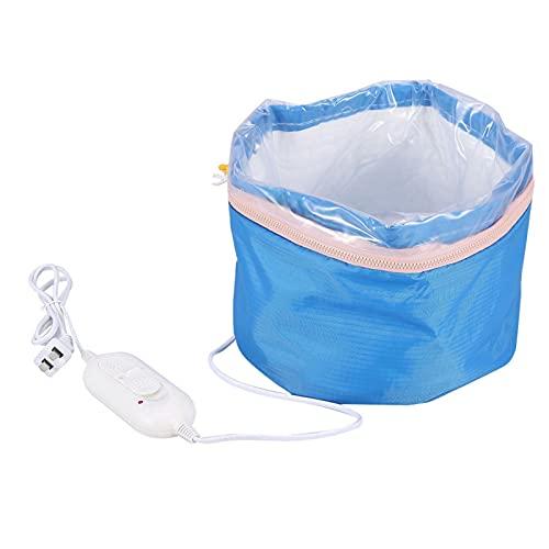 Emoshayoga Secador de Pelo con Capucha de Pelo con Tapa calefactora fácil de Usar para salón para el hogar