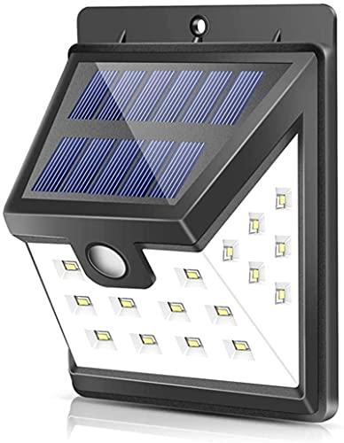 4 W 3835SMD 22 LED lámpara inalámbrica impermeable de seguridad detector de movimiento solar para pared exterior valla garaje jardín