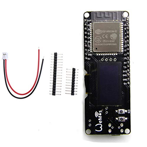 "HiLetgo 0.96"" ESP32 OLED ESP-WROOM-32 ESP32 ESP-32 OLED WiFi Bluetooth Development OLED Display for Arduino AP STA"