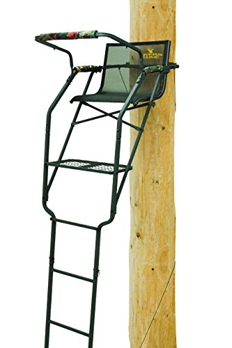 Rivers Edge RE631 Relax Wide Ladder Stand,Black