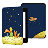 Ayotu Water-Safe Case for Kindle Paperwhite 2018 - PU Leather Smart Cover with Auto Wake/Sleep - Fits Amazon All-New Kindle Paperwhite Leather Cover (10th Generation-2018) K10 The Boy and Fox