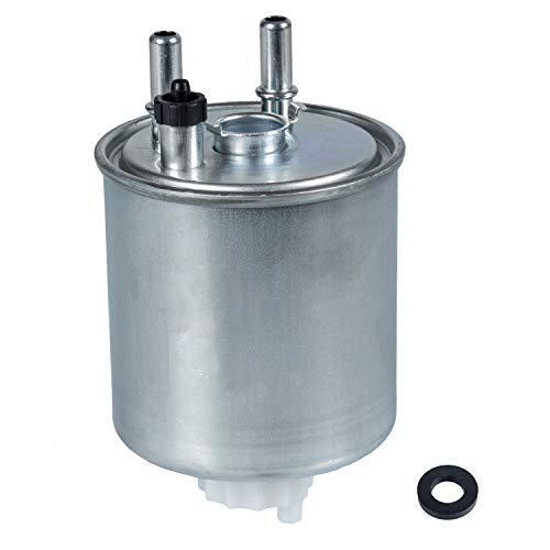 febi bilstein 108735 Kraftstofffilter mit Dichtring, 1 Stück