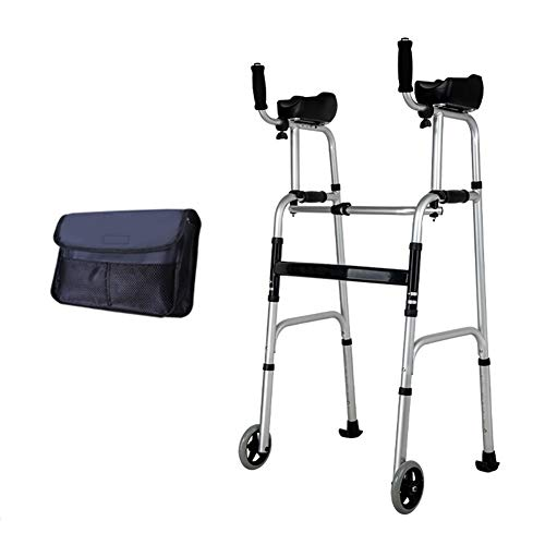 For Sale! Adults Seniors Adjustable Walking Assist, Four Feet Portable Standing Crutches Handicapped...