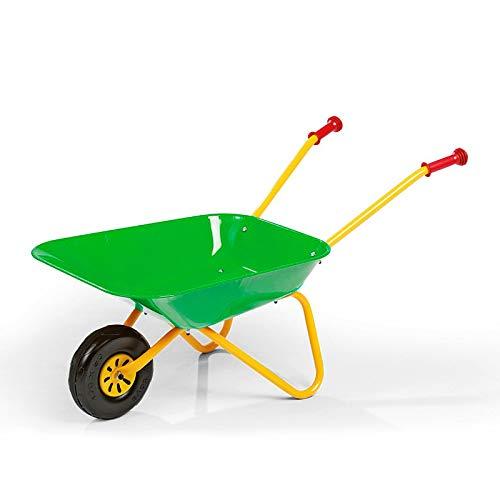 Rolly Toys Kinderschubkarre Grün aus Metall Metallschubkarre Kinder Schubkarre Schubkarren Dema Spielzeug