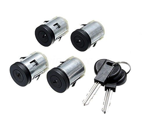 Kit de 4 cerraduras para puertas + cerradura para Fiat Scudo Ulysse...