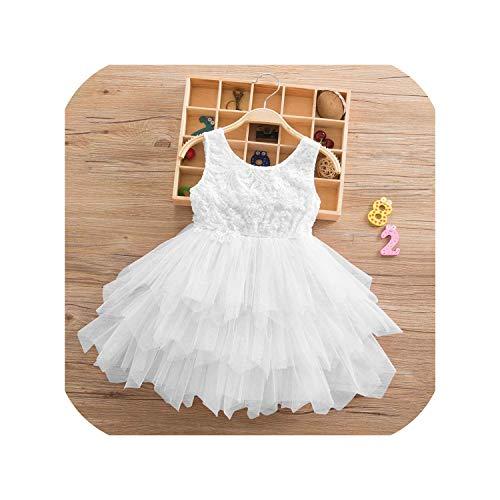 Vestido de tutú de ballet para niña de verano, tutú, vestido de tul para niña de 2 a 6 años