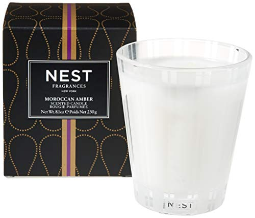 NEST Fragrances NEST01MA003 Classic Candle- Moroccan Amber , 8.1 oz