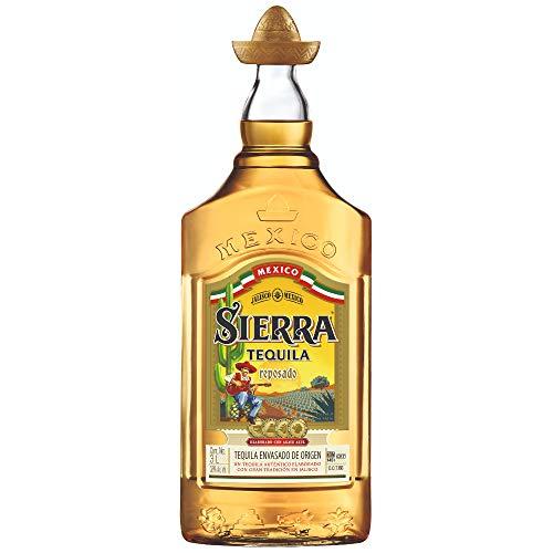 Sierra Tequila Reposado - Echter mexikanischer Tequila aus Jalisco (1 x 3,0l) - 9 Monate in Bourbon Fässern gereift