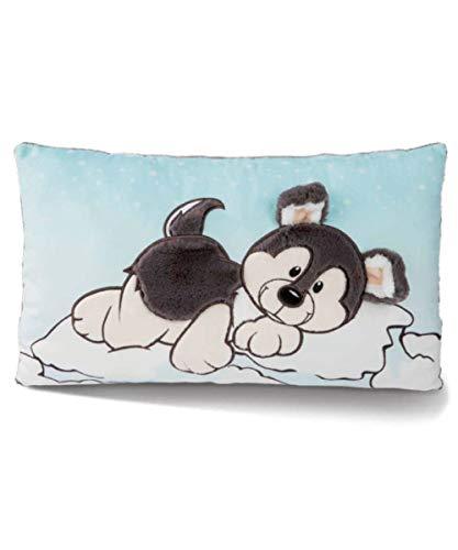 NICI 45740 Kuschel-Kissen Hund Husky Swante 43 x 25 cm – Das süße Plüschkissen mit Hunde-Motiv für Jungen, Mädchen, Babys und Kuscheltierliebhaber – ideal für Zuhause, Kindergarten oder unterwegs