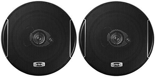 Sound Storm SLQ352 5.25 Inch Car Speakers - 250 Watts of Power Per Pair, 125 Watts Each, Full Range, 3 Way, Sold in Pairs