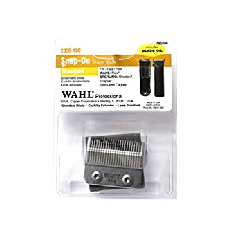 Wahl Professional Snap-On Standard Clipper Blade - 2096-100 - Fits Wahl Professional Sterling Eclispe Clipper.