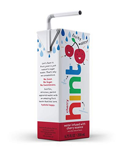Hint Kids Water Cherry (Pack of 32), 6.75 Ounce Boxes, Pure Water Infused Blackberry, Zero Sugar, Zero Calories, Zero Sweeteners, Zero Preservatives, Zero Artificial Flavors