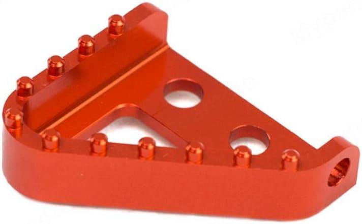 NICECNC Embout de Plaque de marchepied de p/édale de Frein Compatible avec KTM 690 SMC//Enduro//DUK 950 SUPERENDUROR,530 450 300 250 150 125 EXC MXC XC SX,125-530cc EXC//SMR//SX//XC 690 950 990