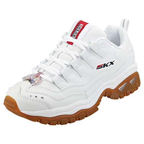 Skechers - Women's Energy - Timeless Vision - Zapatillas para mujer, blanco...