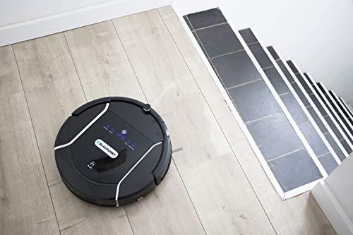 Blaupunkt Bluebot XSMART Saugrobotor mit Wischfunktion und App-Steuerung, 35W, 180 m2 Reichweite, 0,5L Staubbehälter mit HEPA-Filter (Amazon Alexa kompatibel) - 11