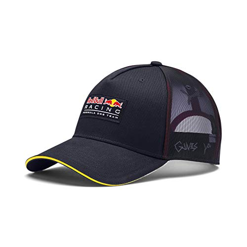 PUMA Red Bull Racing Mesh Back Adjustable Snapback Trucker Hat (Night Sky)
