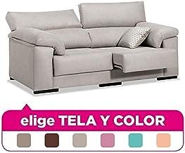 Muebles Baratos Sofá Tres Plazas, Subida A Domicilio, Elige Tela y Color ref-35