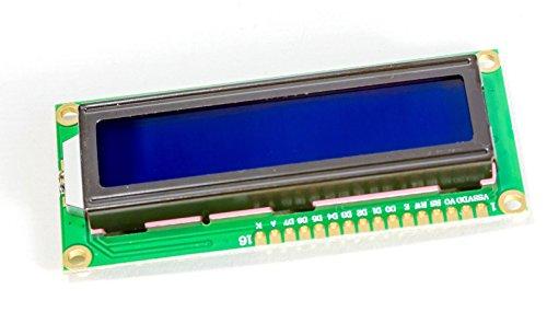 MissBirdler 1602 16x2 Zeichen LCD Display Modul HD44780 blaues BL für Arduino Raspberry Pi
