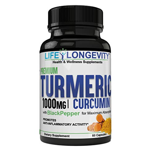 Quality Turmeric at It's Best! Turmeric Curcumin Max Potency 95% Curcuminoids 1000mg with Black Pepper for Best Absorption