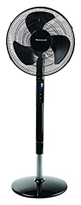 """Honeywell Advanced Quietset with Noise Reduction Technology 16"""" Whole Room Pedestal Fan"""