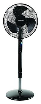 Honeywell HSF600B Advanced QuietSet Whole Room Pedestal Fan Black