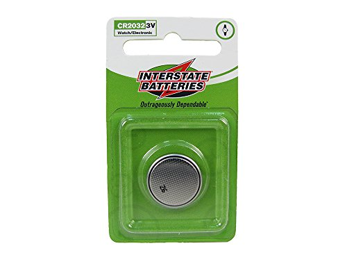 Interstate Batteries LIT0155 CR2032 3-Volt Lithium Battery, 1 Pack (1 Count)
