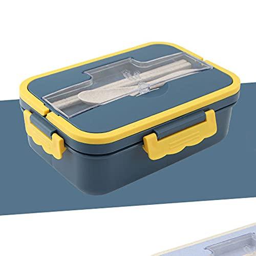 GXGX Bento Box - Fiambrera japonesa para estudiantes, color azul