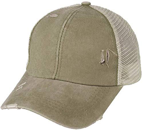 KASHINO Atrise Fashion Gorra de béisbol, unisex, para hombres y mujeres, sombrero desordenado, gorra ajustable para verano