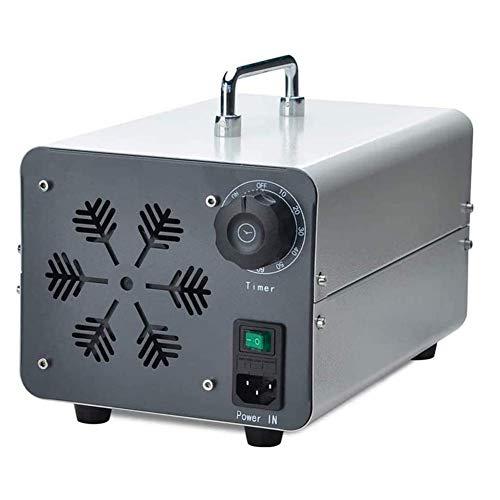 CEXTT Generador de ozono Industrial 20000mg / h, el Filtro de Aire de ozono generador esterilizador 27,5 x 18,5 x 15 cm (Color : B)