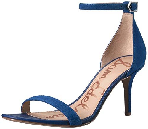 Sam Edelman Sandales pour Femme. - Bleu - Daim Bleu Marine, 38.5 EU