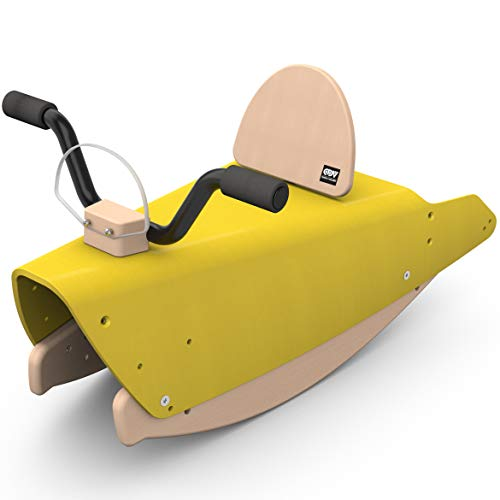 Chou du stuurwiel wip motorfiets geel, BMO-10 JA