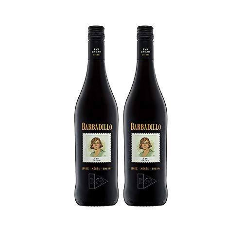 Vino Eva Cream de 75 cl - D.O. Jerez - Bodegas Barbadillo (Pack de 2 botellas)