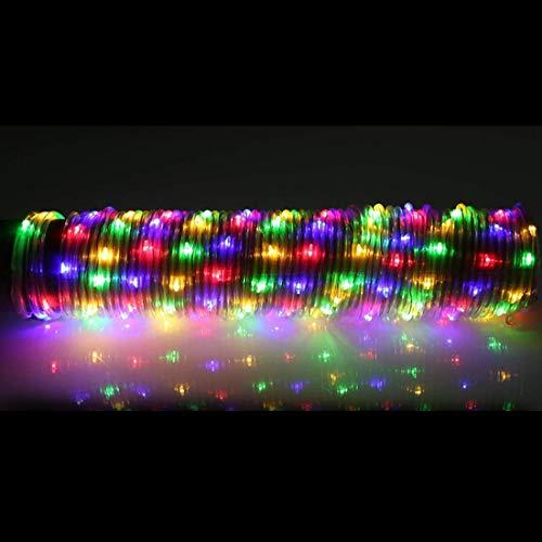 Helele Waterval, 100 leds, decoratieve verlichting op zonne-energie voor buiten, tuin, feest, bruiloft, kerstboom