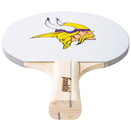 Great Features Of Franklin Sports Minnesota Vikings Table Tennis Paddle - NFL Team Table Tennis Padd...