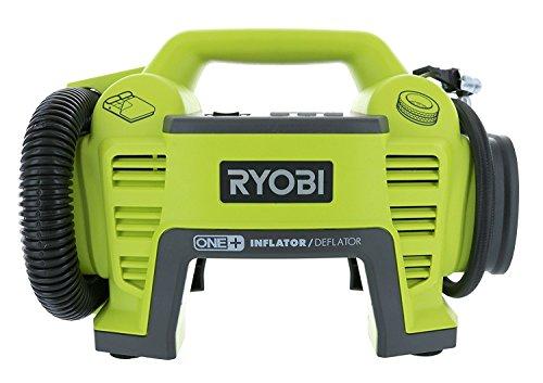 Ryobi P731 One+ 18v Dual Function Power Inflator/Deflator Cordless Air Compressor Kit