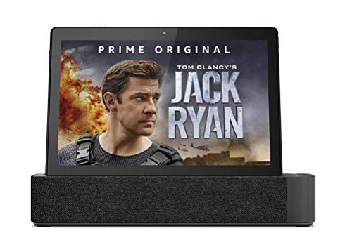 Lenovo Smart Bluetooth, Wi-Fi Tab M10 with Amazon Alexa Speaker Dock (2GB RAM, 16GB, FHD, 4G LTE, Non Calling, 1920 x 1200, Slate Black)