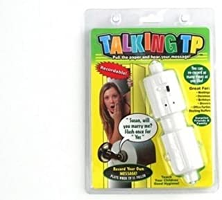 Talking Toilet Paper Holder by Carol Wright Gifts